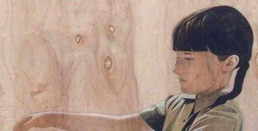 """girl outstreched"" Sean Mahan Art"