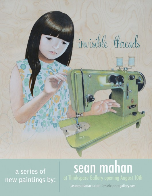 Sean Mahan Invisible Thread flier sm