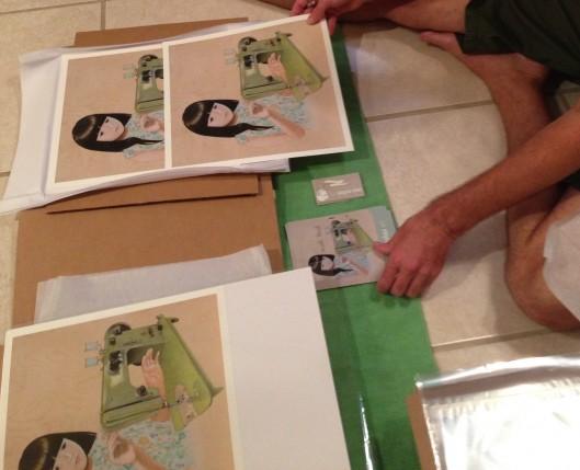 prints in