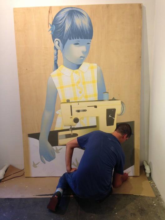 Sean Mahan roebling wall panel
