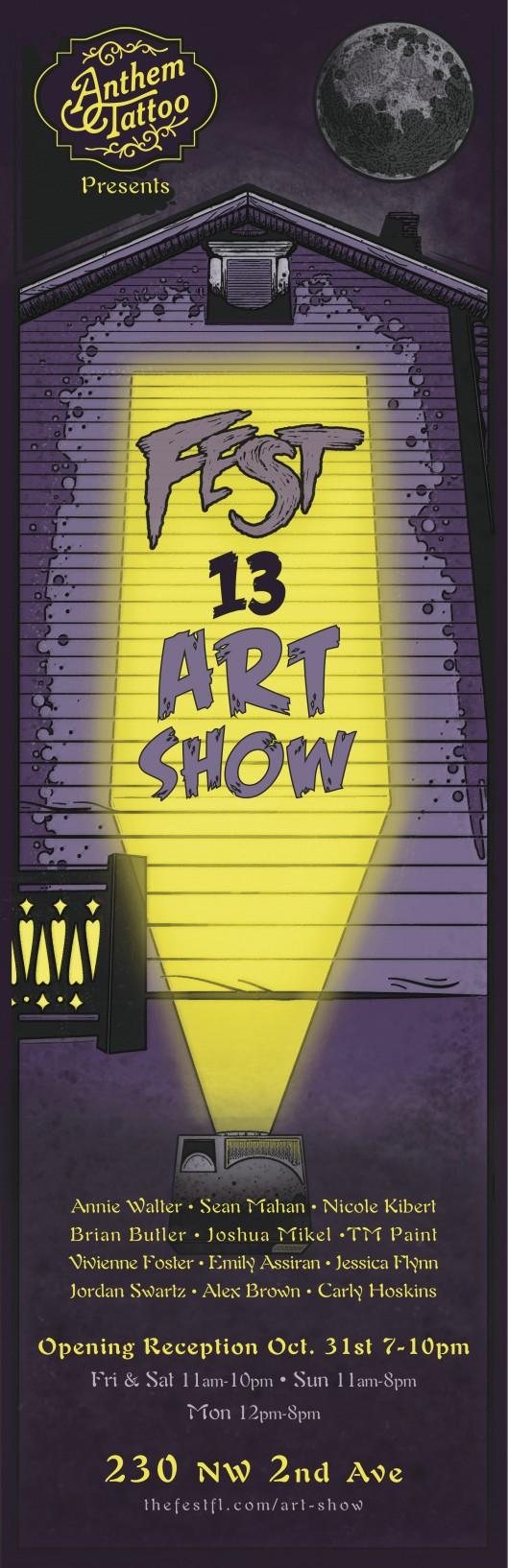 Sean Mahan Fest Art Show