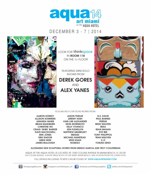 Aqua Art Miami 2014 - Sean Mahan